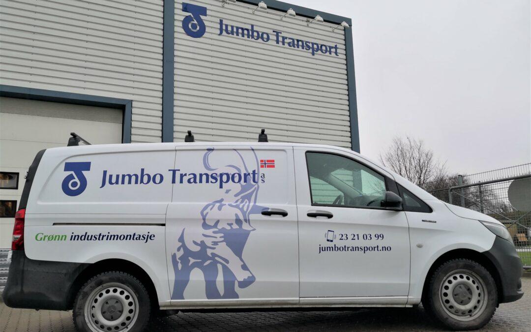 Jumbo Transport er nå klare for fossil frie byggeplasser